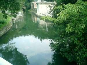大神宮橋の上から撮影